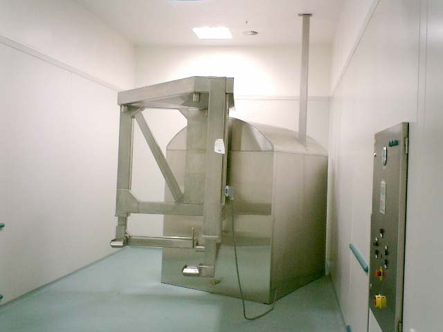 Food Industry Container Mixer